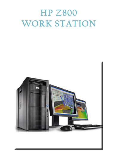 HP Z800 WORK STATION Gwagenn Saint Malo